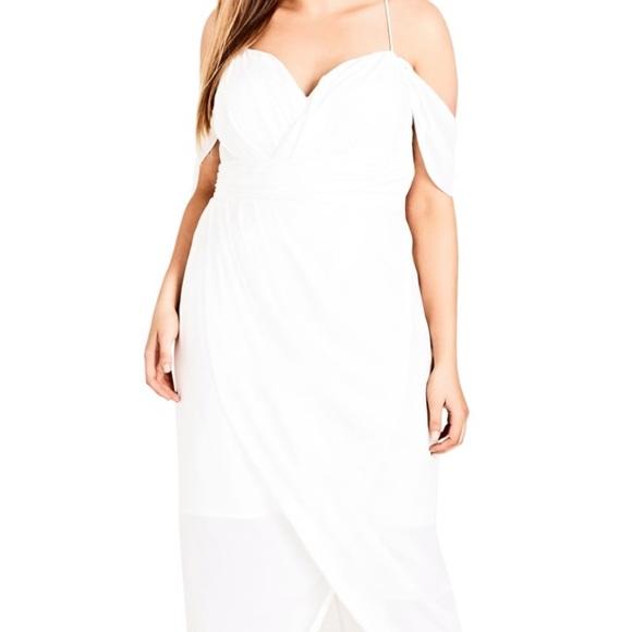 City Chic Dresses & Skirts - City chic white dress